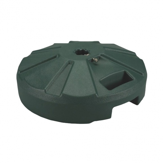 16 in. Round Fillable Resin Umbrella Base