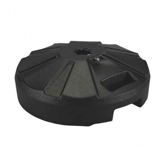 PLC Black Umbrella Base 16 in diameter