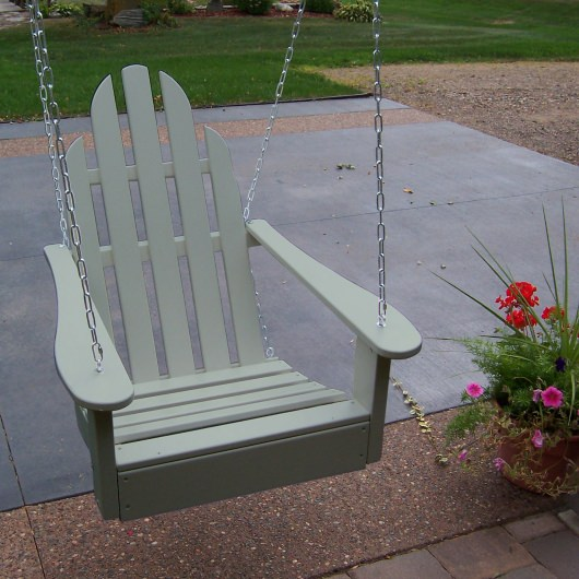 Adirondack Swing Chair