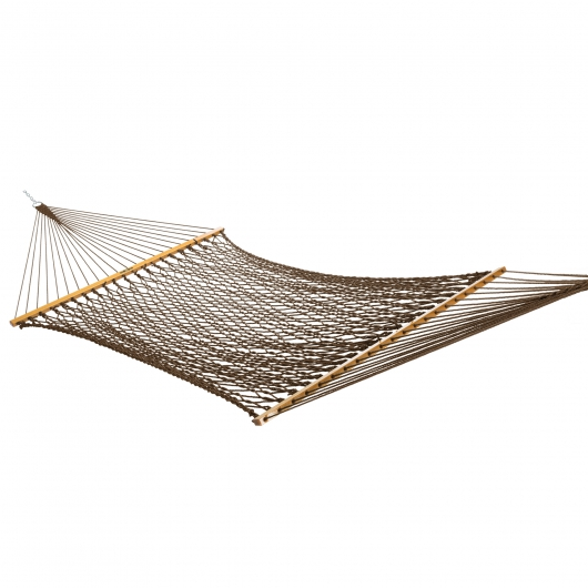 Large DuraCord Rope Hammock with Steel Hammock Stand