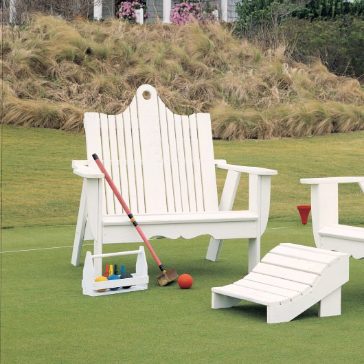 Bridgehampton Adirondack Two-Seater - Pine -