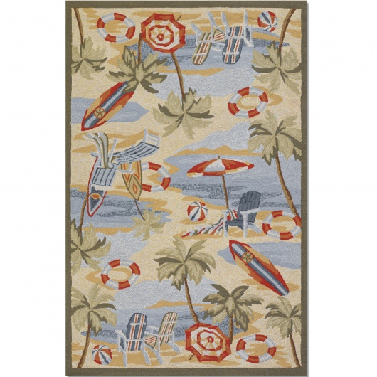 Outdoor Escape Cocoa Beach Outdoor Rug