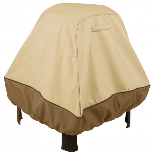 Classic Accessories Tall Stand Up Veranda Fire Pit Cover