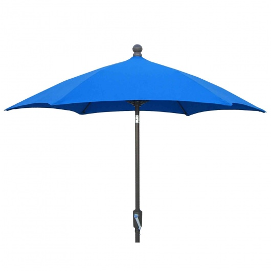 7.5 Ft. Crank Terrace Umbrella with Bronze Pole