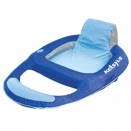 Large Portable Floating Lounger with Headrest
