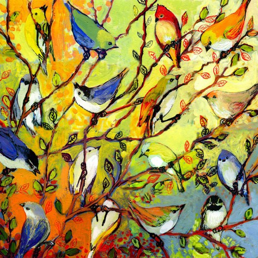 Birds Of A Feather Outdoor Wall Art