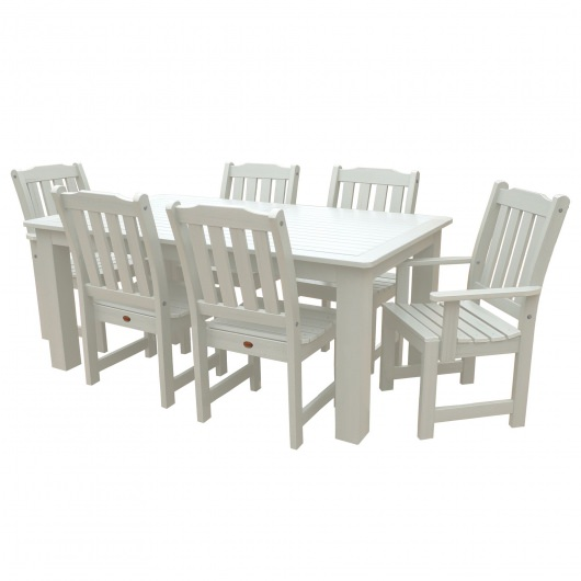 Lehigh 7pc Rectangular Dining Set