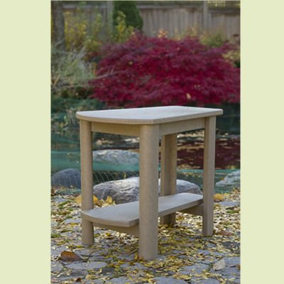 Poly lumber Adirondack Side Table