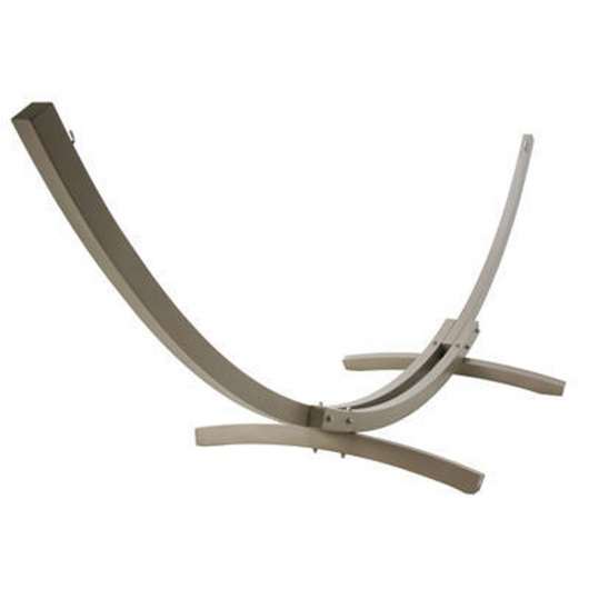 Aluminum Small Hammock Stand - Taupe