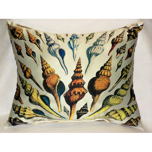 Antique Multi Shells Outdoor Pillow