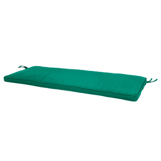 56in Sunbrella Bench Cushion Box Edge More Colors Dark Green