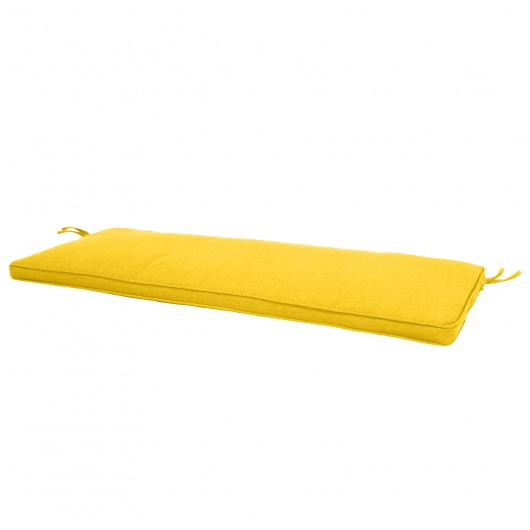 56in Sunbrella Bench Cushion with Box Double Welt
