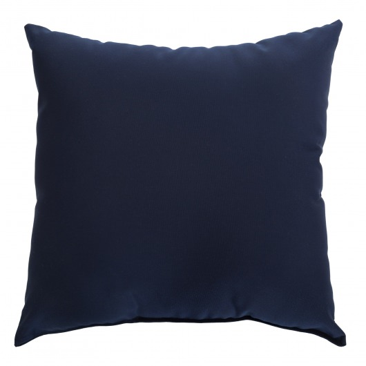 Navy Sunbrella Porch Pillow