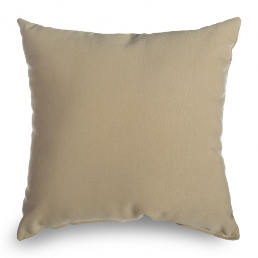 Wheat Outdoor Throw Pillow 16 in x 16 in