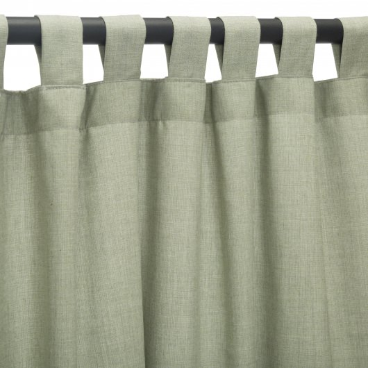Sunbrella Cast Oasis Outdoor Curtain with Tabs