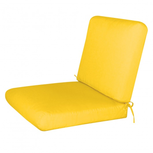 Bullnost 2-Piece Chair Sunbrella Cushion Yellow Color Options