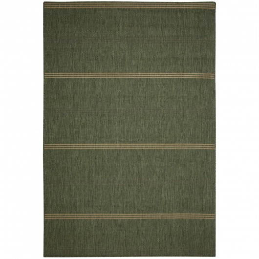 Inlet Stripe Green - Pawleys Island Porch Rug