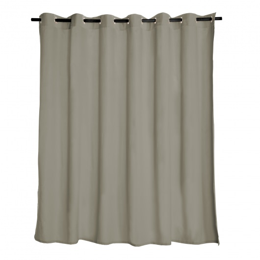 Venetian Fog Extra Wide Outdoor Curtain