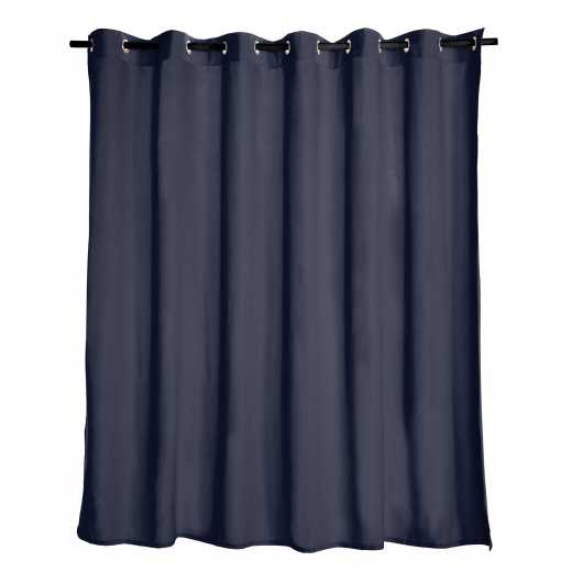 Navy Extra Wide Outdoor Curtain