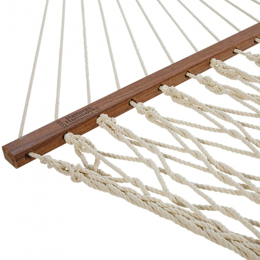 Deluxe DuraCord Rope Hammock - Oatmeal