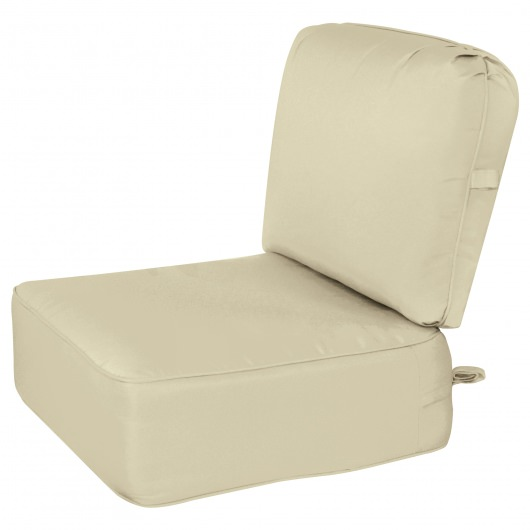 Deep Seating Cushion with Box Edge Neutral1 Color Options