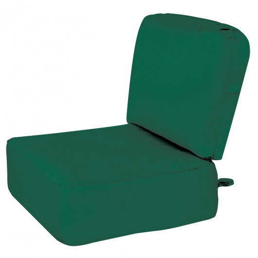 Deep Seating Cushion with Box Edge Green1 Color Options