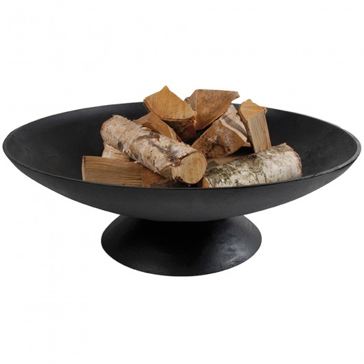 31 Inch Cast Iron Black Fire Pit Bowl