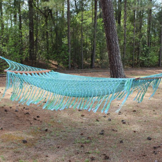 Ocean Breeze Crochet Nylon Hammock