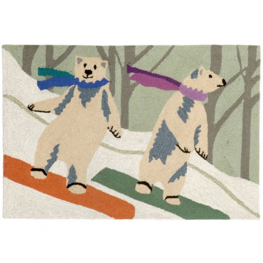 Frontporch Boarding Bears Snow