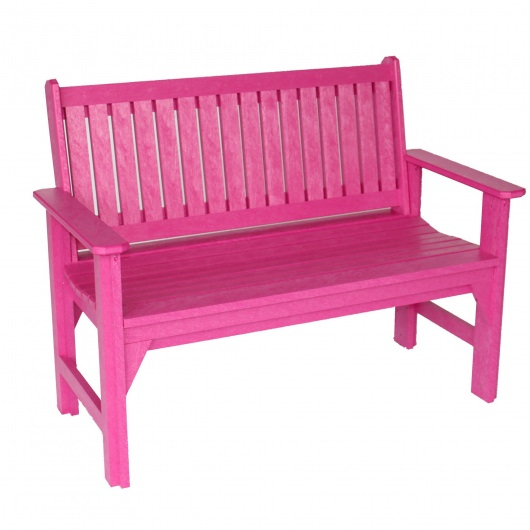 com bench outdoor polywood garden wood chippendale benches polywoodfurniture poly