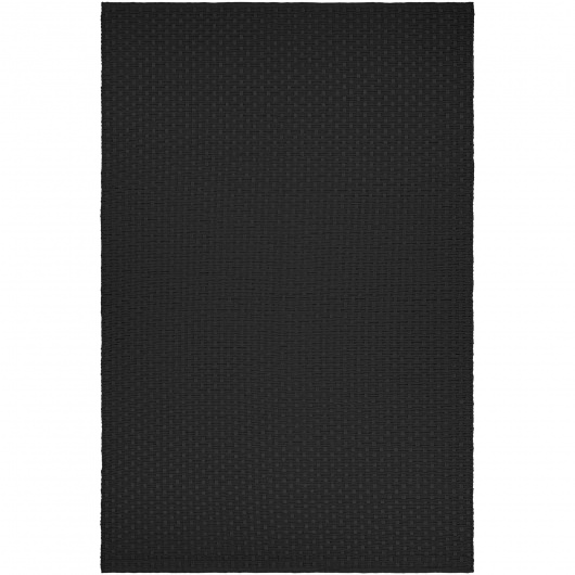 Grand Cayman Pontoon Black Outdoor Rug