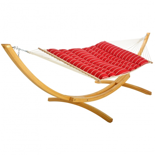 Pillowtop Hammock - Classic Red Stripe