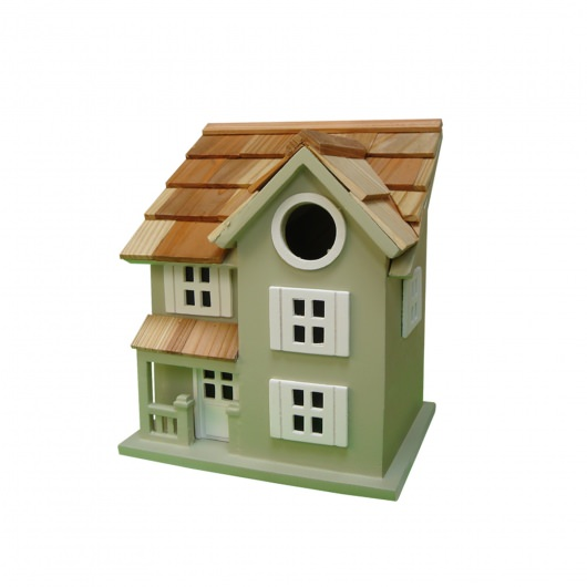Townhouse Birdhouse - Grey