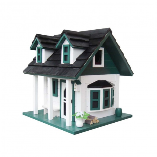 Green Gables House - White/Green/Black