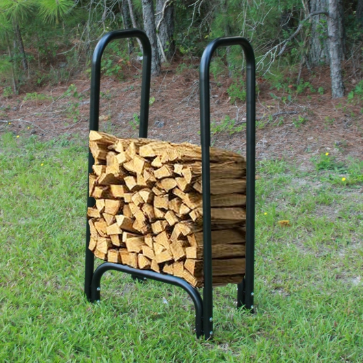 1.75 ft. Firewood Rack - Holds 1/8th Cord of Wood