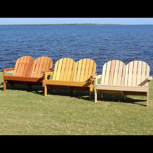 Adirondack Loveseat - Honey Gold