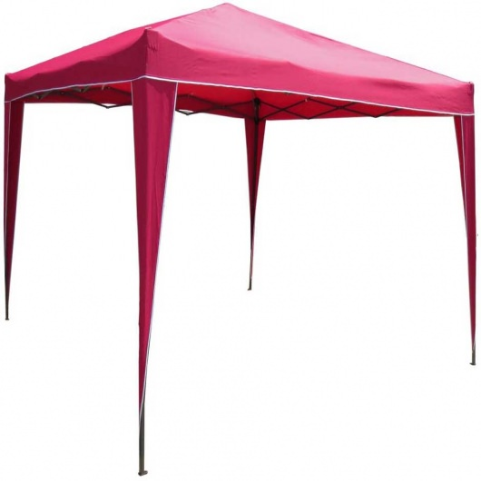 9 Ft UV resitant Folding Gazebo in Bronze Frame available in 8 colors