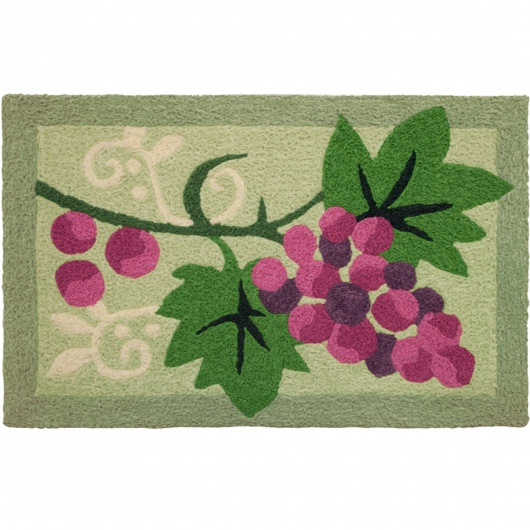 Jellybean Grapes Outdoor Door Mat