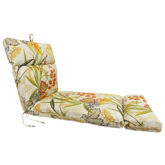 Autumn Retreat Chaise Lounge Cushion