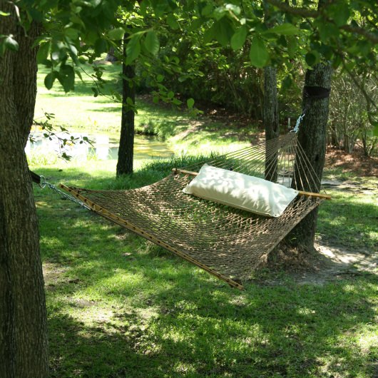 Large Original DuraCord Rope Hammock - Antique Brown