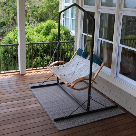 Sea Oats Gray - Pawleys Island Porch Rug