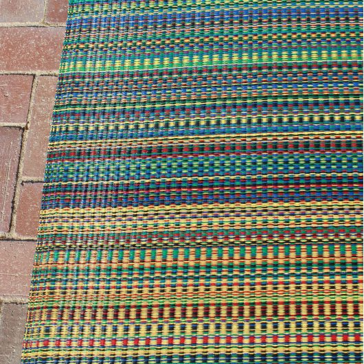 Mixed Rainbow Tones Outdoor Mat