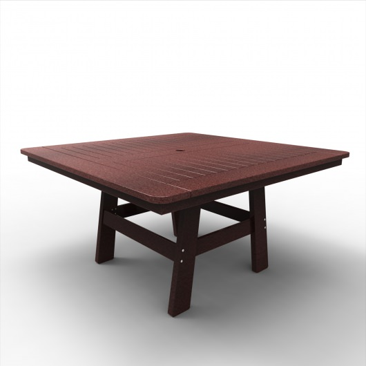 55 in Square Newport Dining Table
