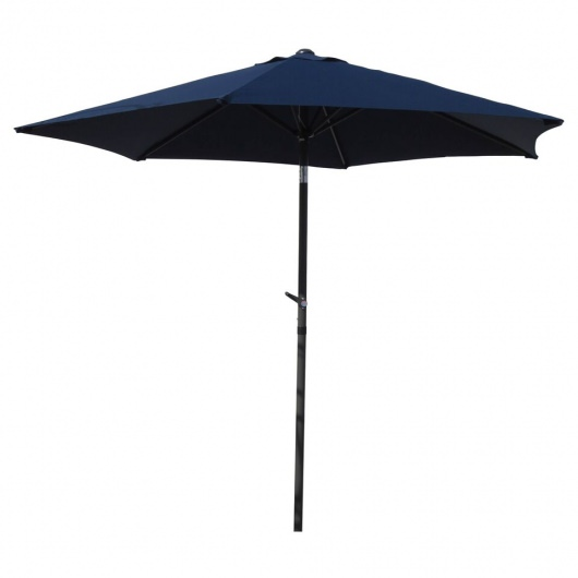 Outdoor 8 Ft Aluminum Umbrella-Choose from 7 Colors