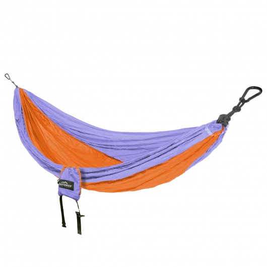Castaway Single Travel Hammock with Hanging Straps
