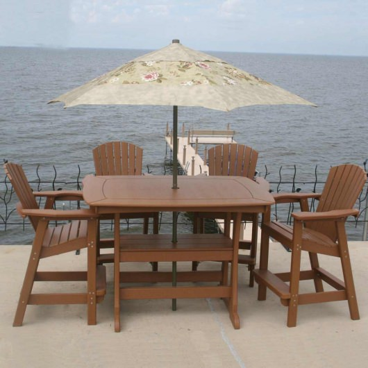 Bar Height Dining Table - 56x42x40 in