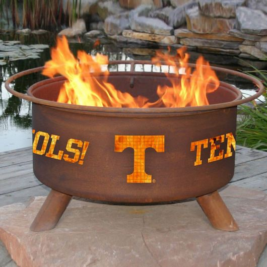 Patina Products Natural Rust Tennessee Fire Pit
