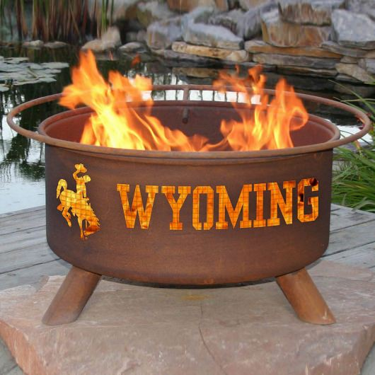 Patina Products Natural Rust Wyoming Fire Pit