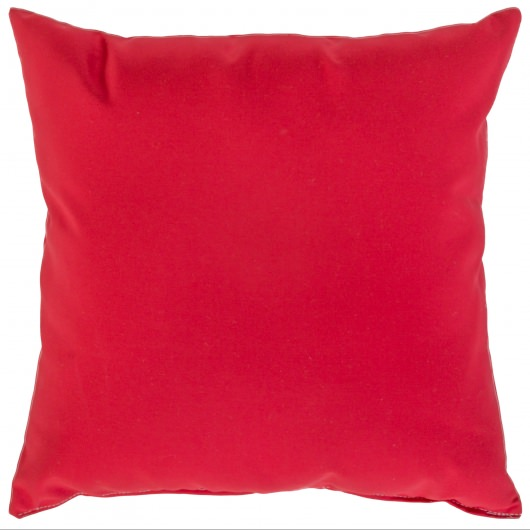 Jockey Red Sunbrella Outdoor Throw Pillow