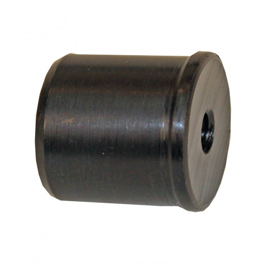 Plastic Cut Pole Adaptor- Black / Drapes